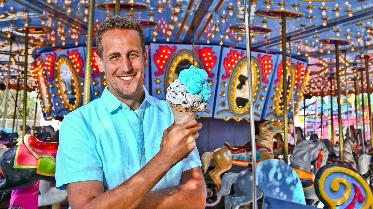Watch cooking channel live noah cappe catches the catfish sundae at the coastal carolina fair near charleston sc forumfinder Choice Image
