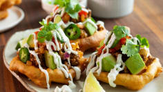 Funnel Cake Tacos