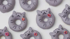 Pusheen Cat Donuts